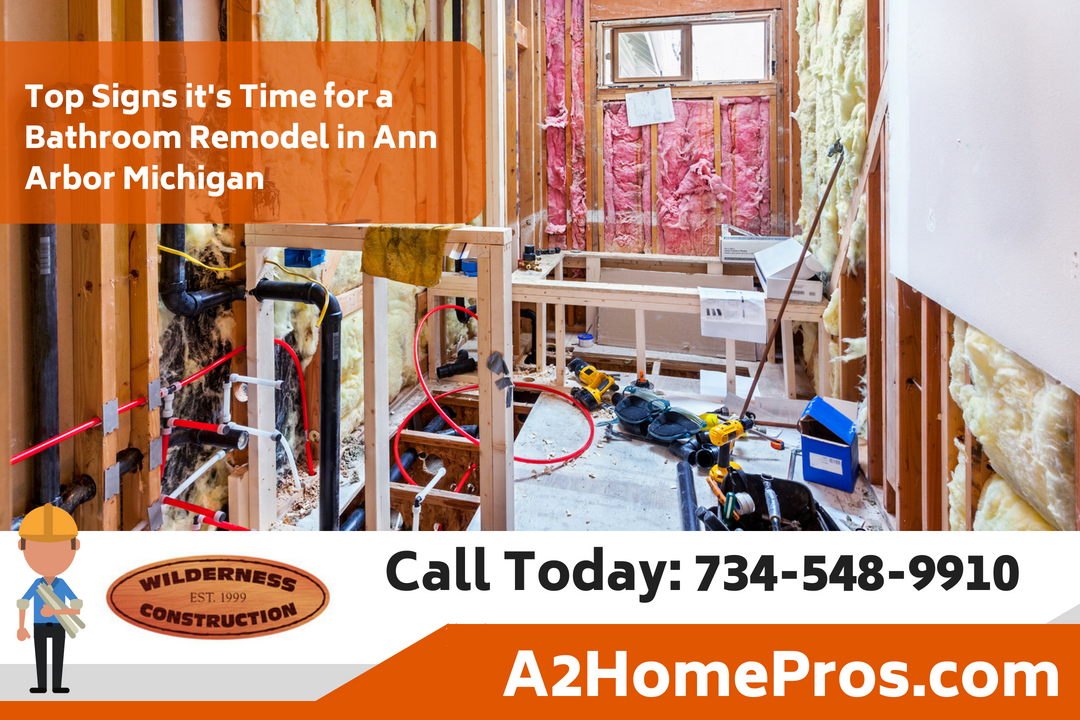 Top Signs it's Time for a Bathroom Remodel in Ann Arbor Michigan