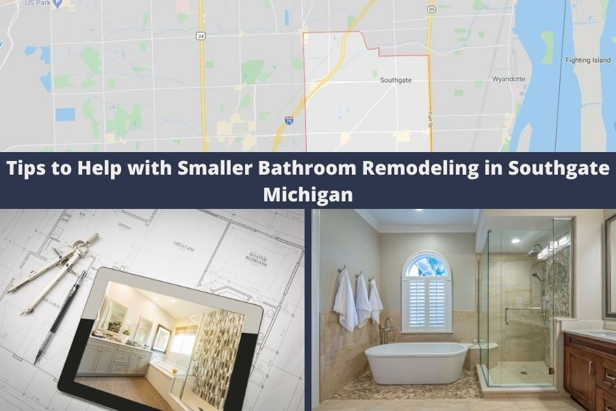 Tips to Help with Smaller Bathroom Remodeling in Southgate Michigan